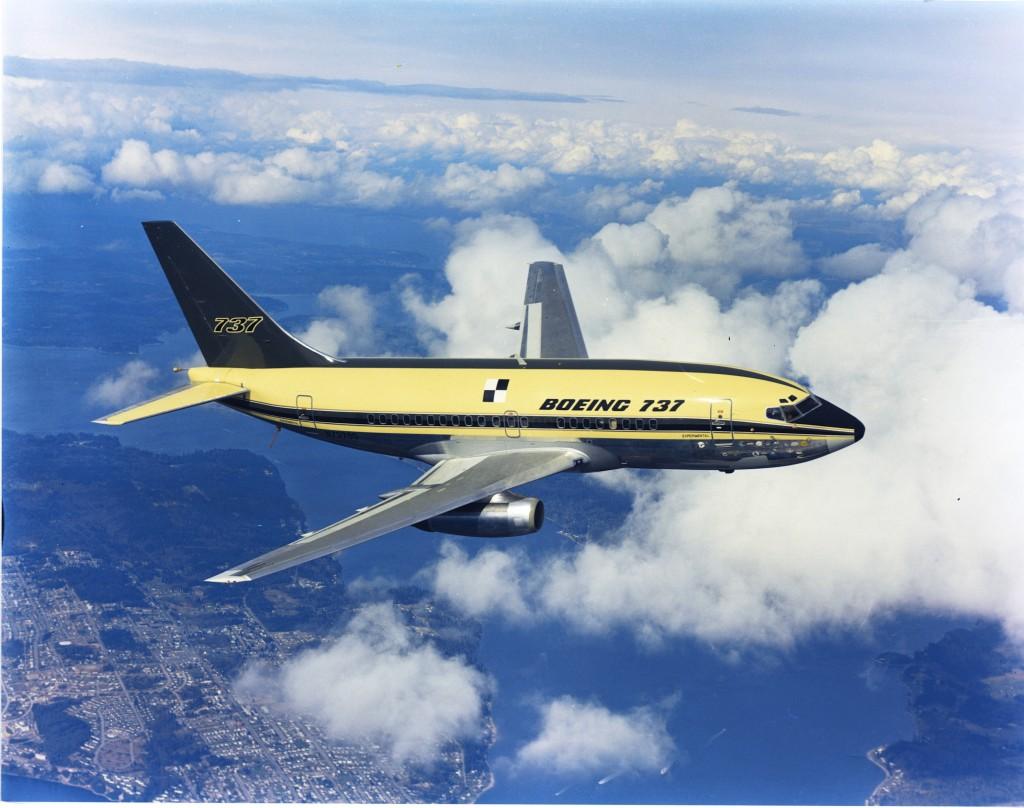 1e Boeing 737