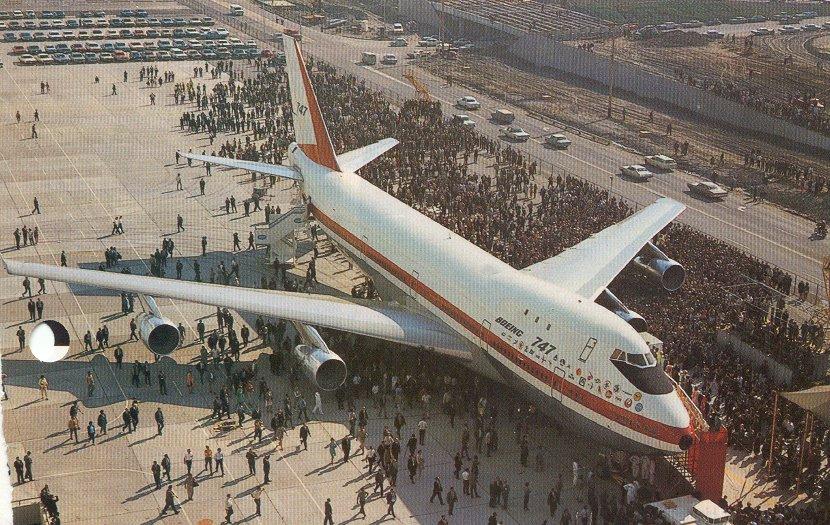1e Boeing 747