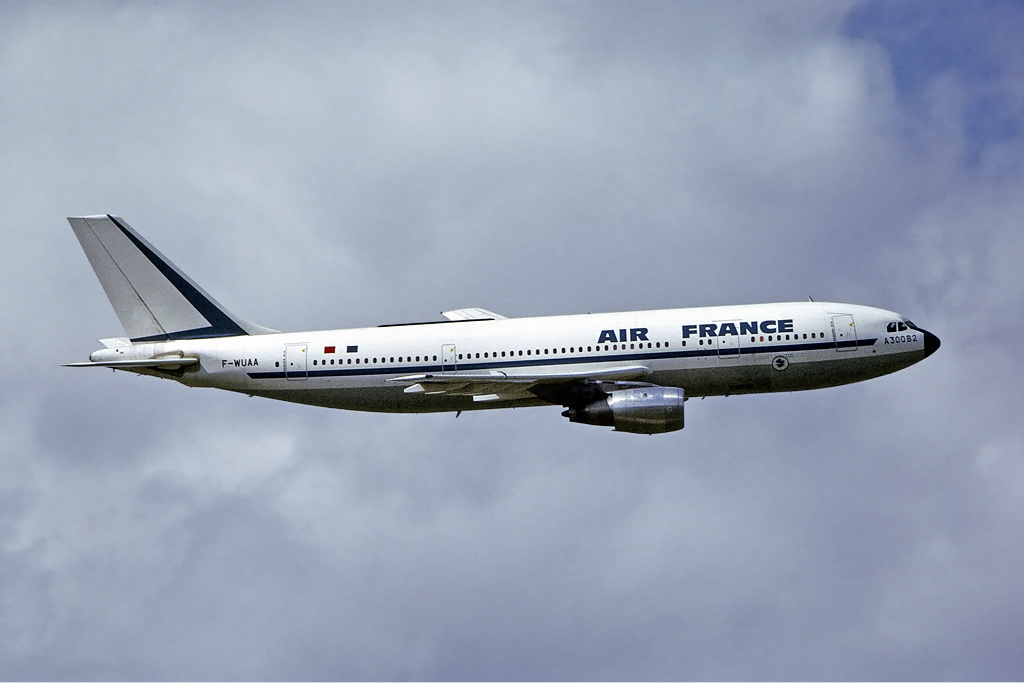 A300 Air France 1974