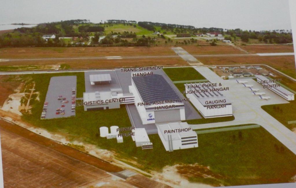 Airbus plant Mobile AL